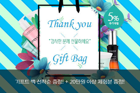 Thank you x gift bag